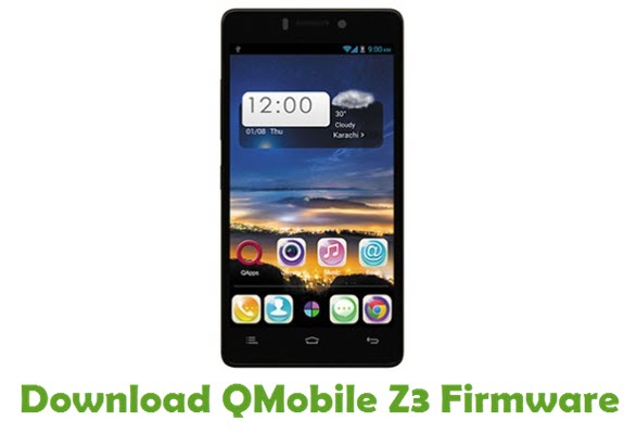 Download QMobile Z3 Firmware