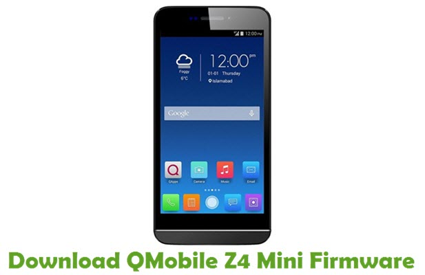 Download QMobile Z4 Mini Firmware