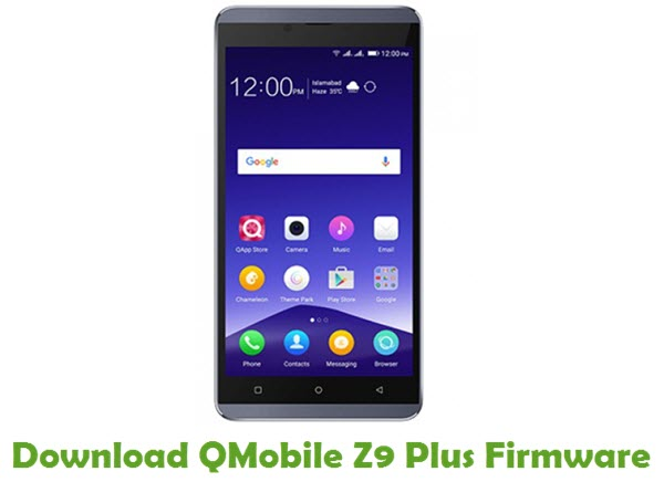 Download QMobile Z9 Plus Firmware