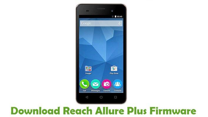 Download Reach Allure Plus Firmware