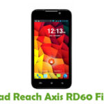 Reach Axis RD60 Firmware