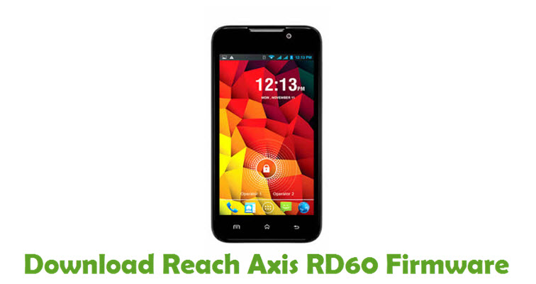 Download Reach Axis RD60 Firmware