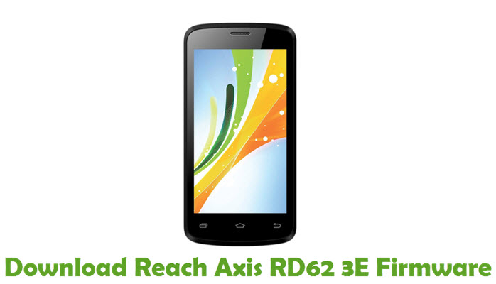 Download Reach Axis RD62 3E Firmware
