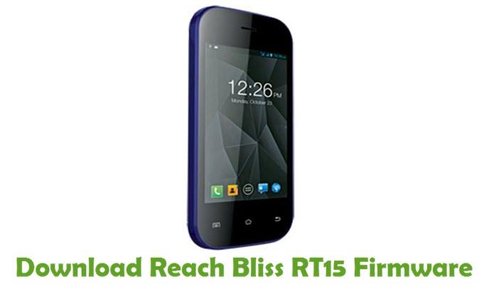 Download Reach Bliss RT15 Firmware