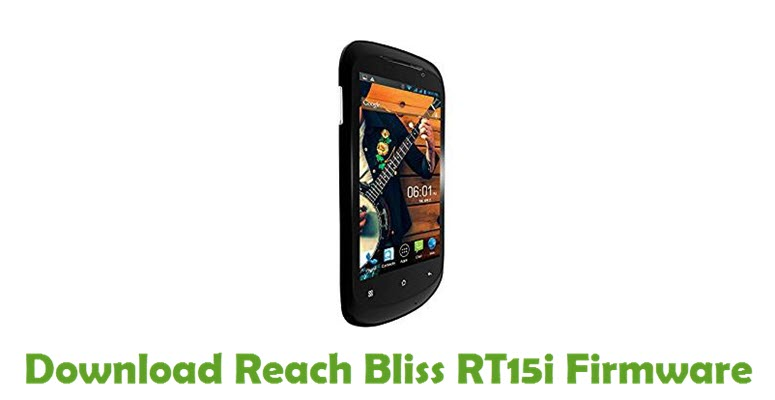 Download Reach Bliss RT15i Firmware