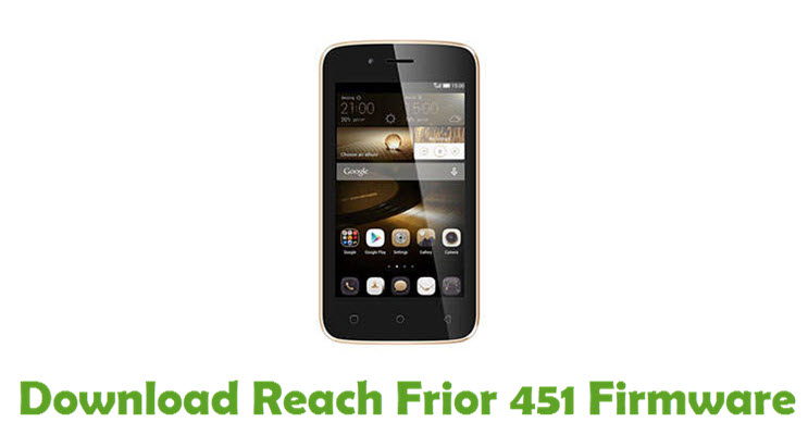 Download Reach Frior 451 Firmware