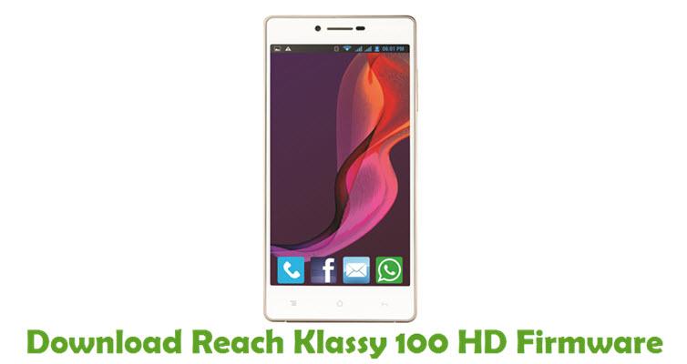 Download Reach Klassy 100 HD Firmware