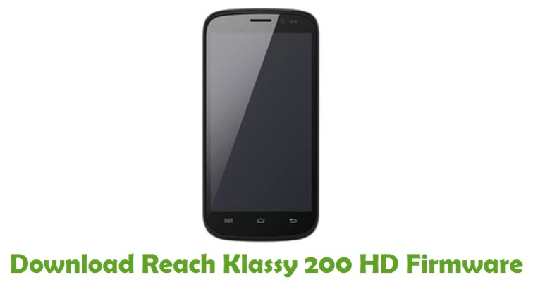 Download Reach Klassy 200 HD Firmware