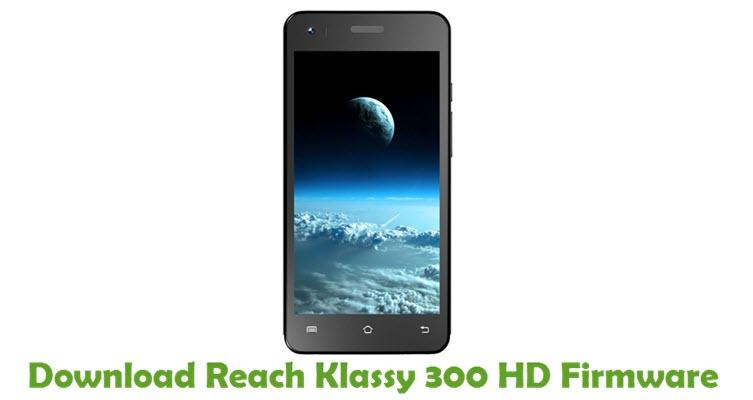 Download Reach Klassy 300 HD Stock ROM