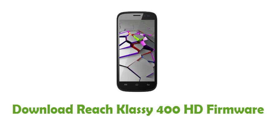 Download Reach Klassy 400 HD Firmware