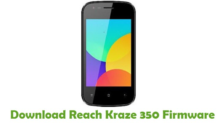 Download Reach Kraze 350 Firmware