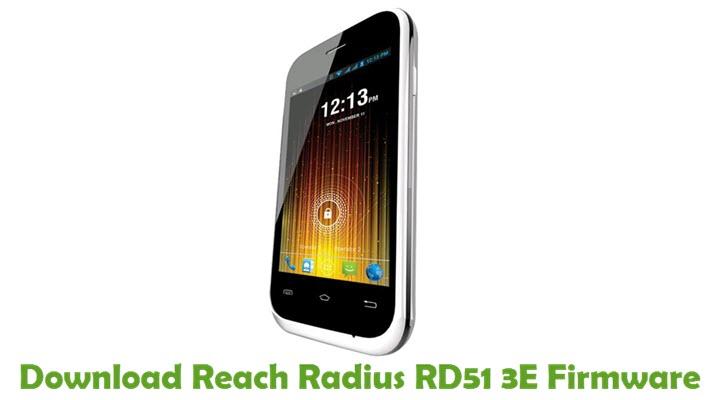 Download Reach Radius RD51 3E Firmware