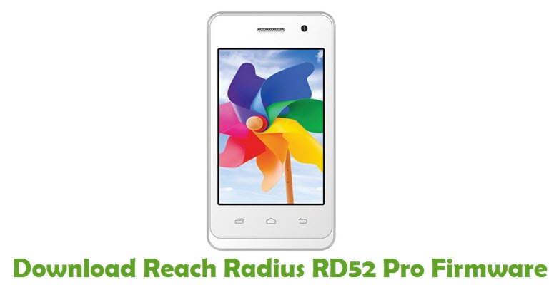 Download Reach Radius RD52 Pro Firmware