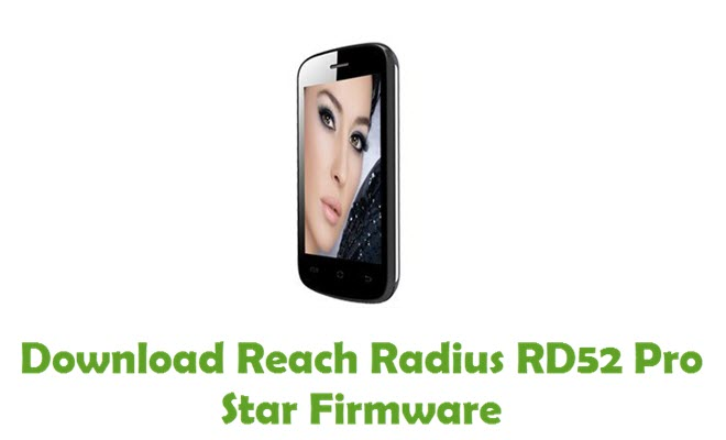 Download Reach Radius RD52 Pro Star Firmware