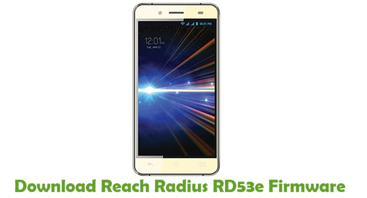 Download Reach Radius RD53e Firmware