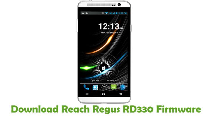 Download Reach Regus RD330 Firmware