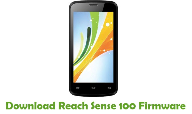 Download Reach Sense 100 Firmware