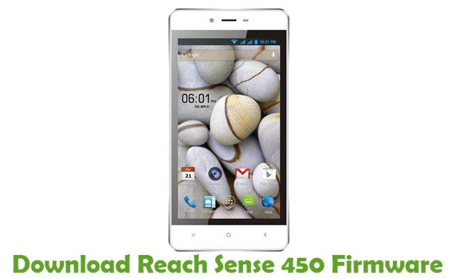 Download Reach Sense 450 Firmware
