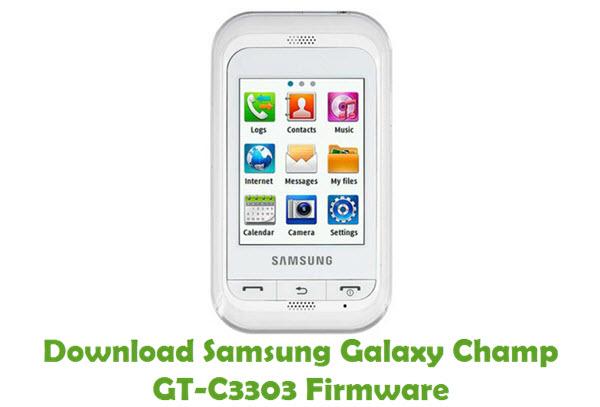 Download Samsung Galaxy Champ GT-C3303 Stock ROM