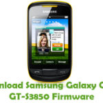 Samsung Galaxy Croby GT-S3850 Firmware