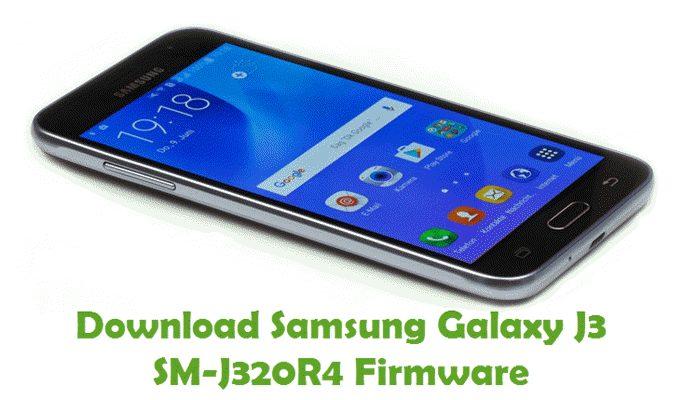 Download Samsung Galaxy J3 SM-J320R4 Stock ROM
