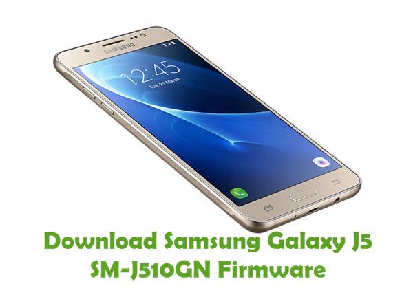 Download Samsung Galaxy J5 SM-J510GN Stock ROM