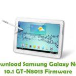 Samsung Galaxy Note 10.1 GT-N8013 Firmware
