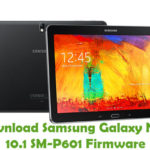 Samsung Galaxy Note 10.1 SM-P601 Firmware