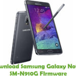 Samsung Galaxy Note 4 SM-N910G Firmware