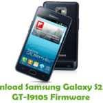 Samsung Galaxy S2 Plus GT-I9105 Firmware