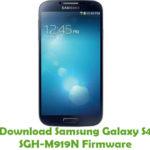 Samsung Galaxy S4 SGH-M919N Firmware