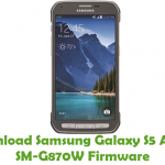 Download Samsung Galaxy S7 Active SM-G891A Firmware - Stock