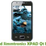 Simmtronics XPAD Q1 Firmware