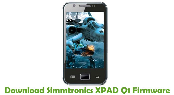 Download Simmtronics XPAD Q1 Firmware