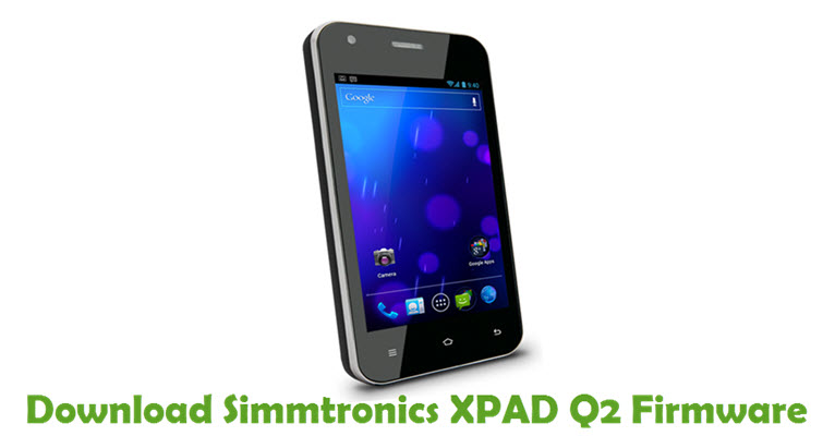 Download Simmtronics XPAD Q2 Firmware