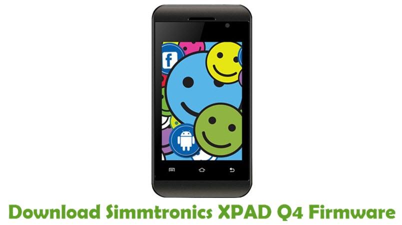 Download Simmtronics XPAD Q4 Firmware