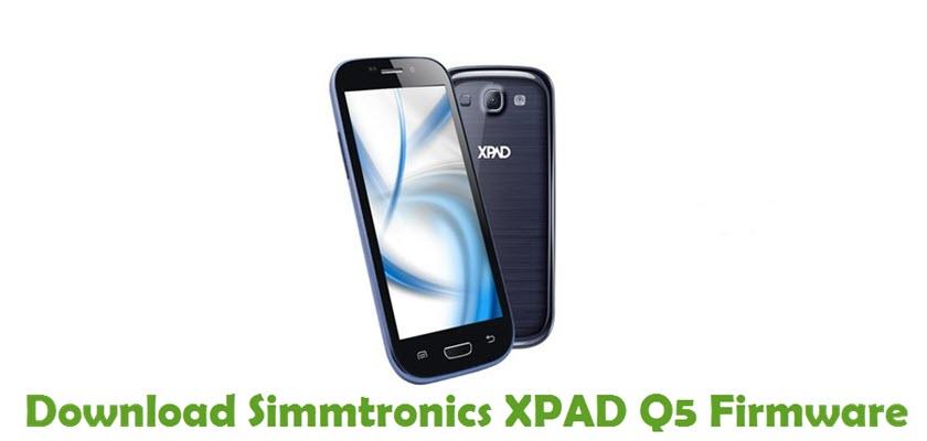 Download Simmtronics XPAD Q5 Firmware