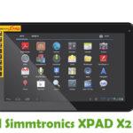Simmtronics XPAD X2 Firmware