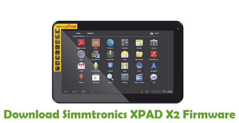 Download Simmtronics XPAD X2 Firmware