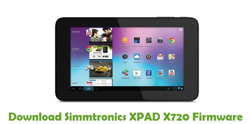 Download Simmtronics XPAD X720 Firmware