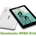 Simmtronics XPAD X722 Firmware