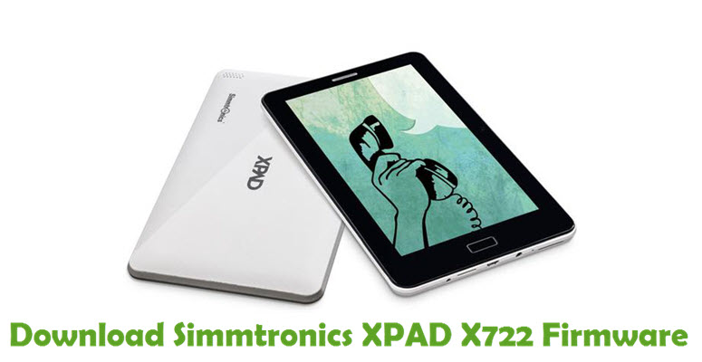 Download Simmtronics XPAD X722 Firmware