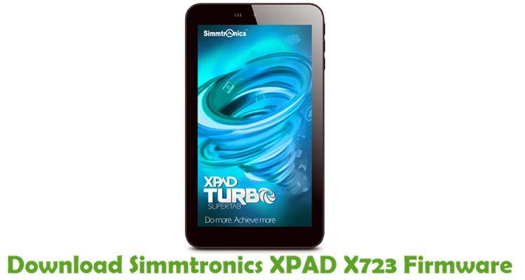 Download Simmtronics XPAD X723 Stock ROM