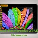 Simmtronics XPAD X801 Firmware