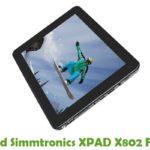 Simmtronics XPAD X802 Firmware