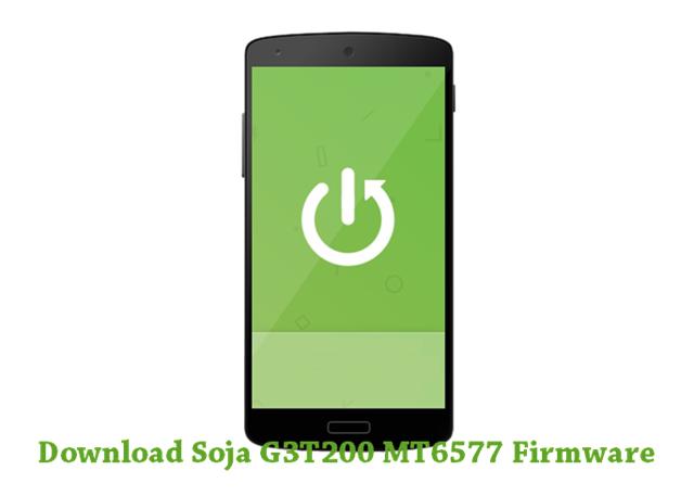 Download Soja G3T200 MT6577 Stock ROM