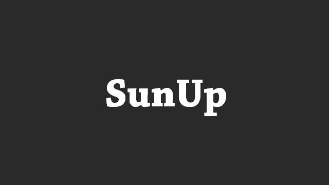 Download SunUp Stock ROM