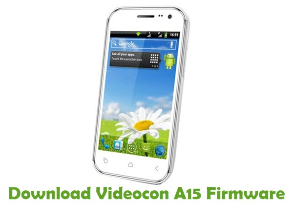 Download Videocon A15 Firmware