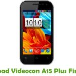 Videocon A15 Plus Firmware