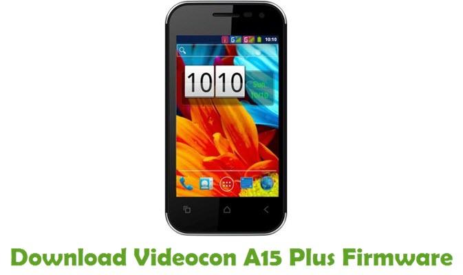 Download Videocon A15 Plus Firmware